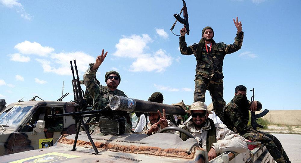 利比亚国民军司令部:哈夫塔尔的军队正向的黎波里南面和东面挺进