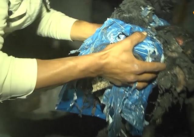 以色列反击空袭加沙致4月大婴儿死亡