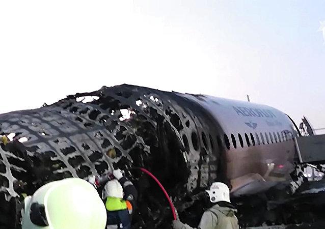 Катастрофа SSJ-100 в аэропорту Шереметьево