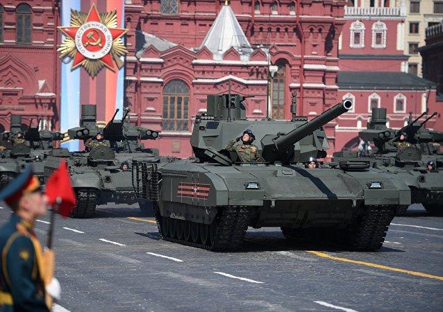 """T-14""""阿玛塔""""坦克"""