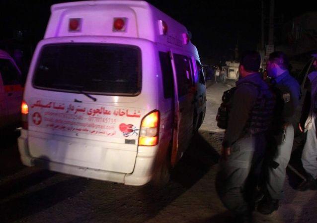 消息人士:阿富汗南部医院附近爆炸事件死亡人数增加到39人