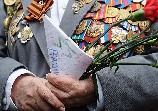 俄二战老战士