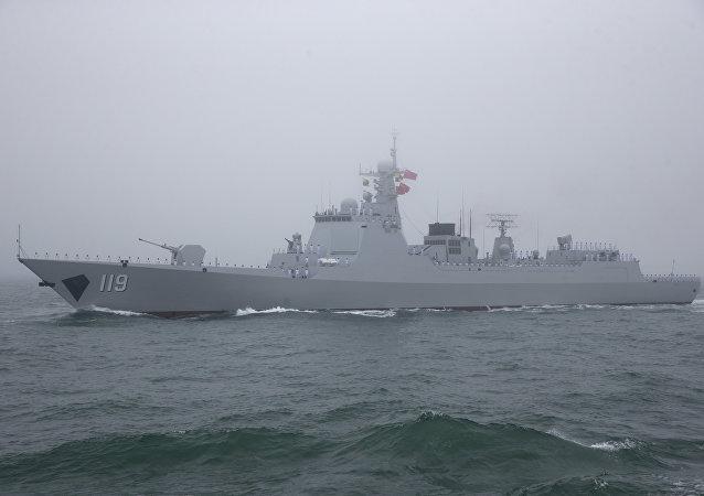 导弹驱逐舰贵阳舰