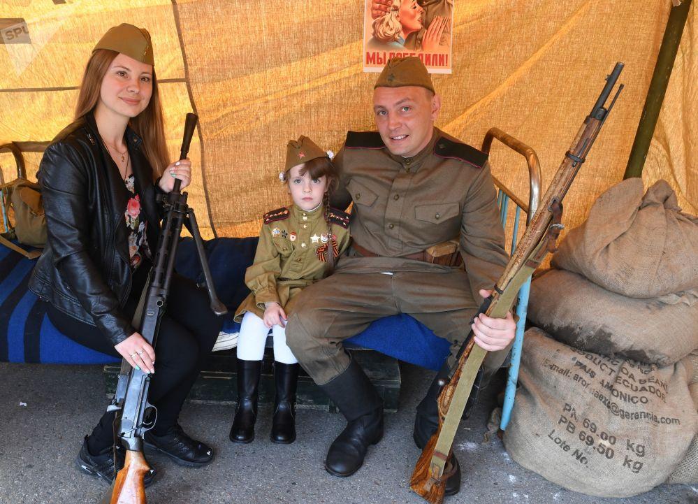 莫斯科中央高尔基文化休息公园胜利日庆祝活动