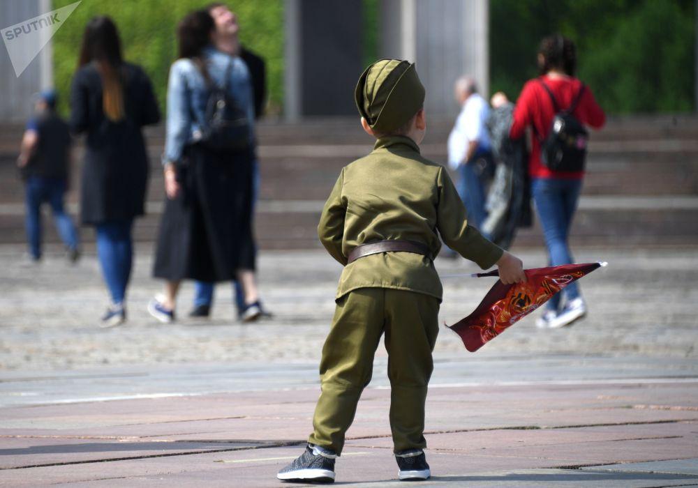 莫斯科俯首山胜利日庆祝活动
