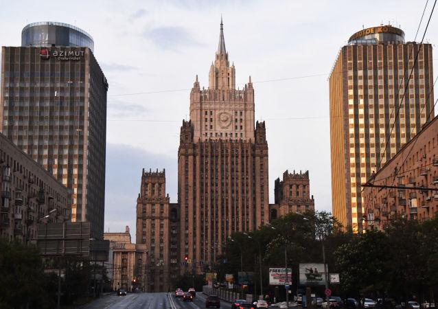 俄外交部:发展俄中关系有助于保障全球安全