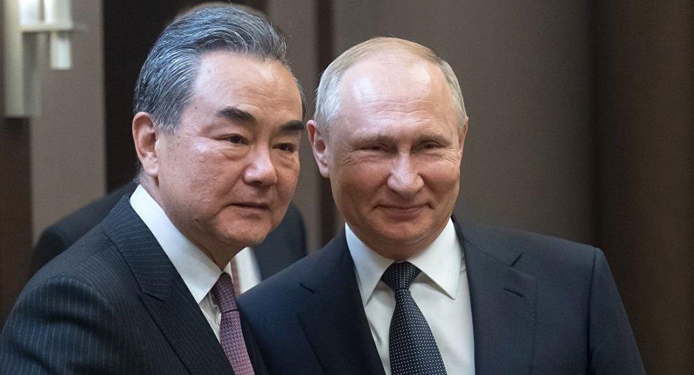 普京与王毅