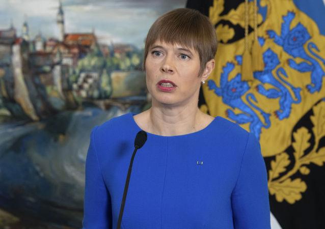 爱沙尼亚总统克尔斯季•卡柳莱德