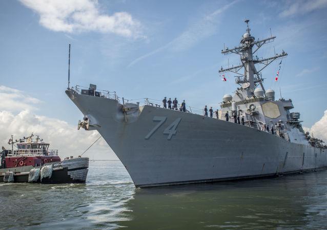 Корабль ВМС США USS McFaul