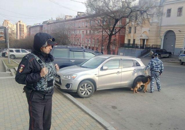 哈巴罗夫斯克警方