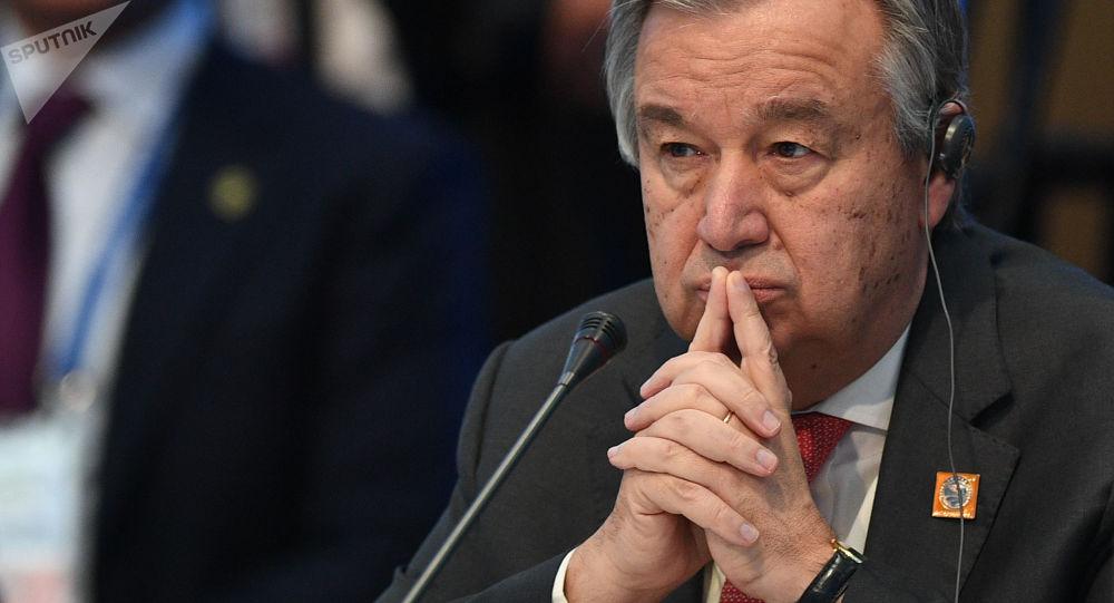 联合国秘书长:联合国正在设法在利比亚建立非军事区