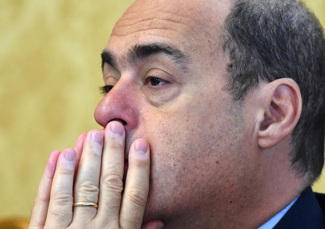 意大利执政联盟的民主党领袖辛加雷蒂