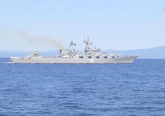 俄罗斯庆祝太平洋舰队日