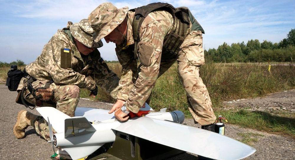 乌安全部队无人侦察机