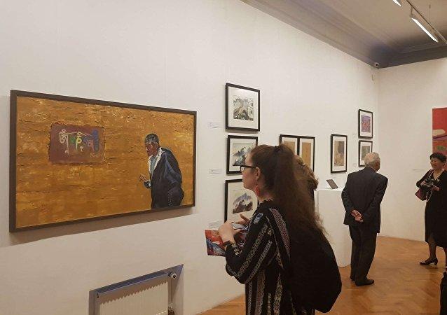 莫斯科艺术馆举办大型活动纪念中俄建交70周年