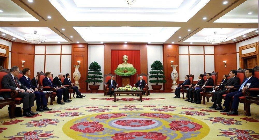 越南总理访俄期间双方签署多份文件