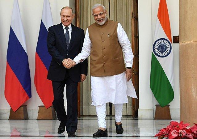 俄外长称自己通过印度外长转达普京致莫迪总理的口信