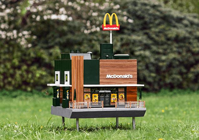 瑞典开设迷你麦当劳