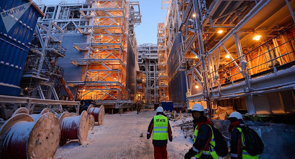 德国记者称俄罗斯对美国液化天然气存在威胁