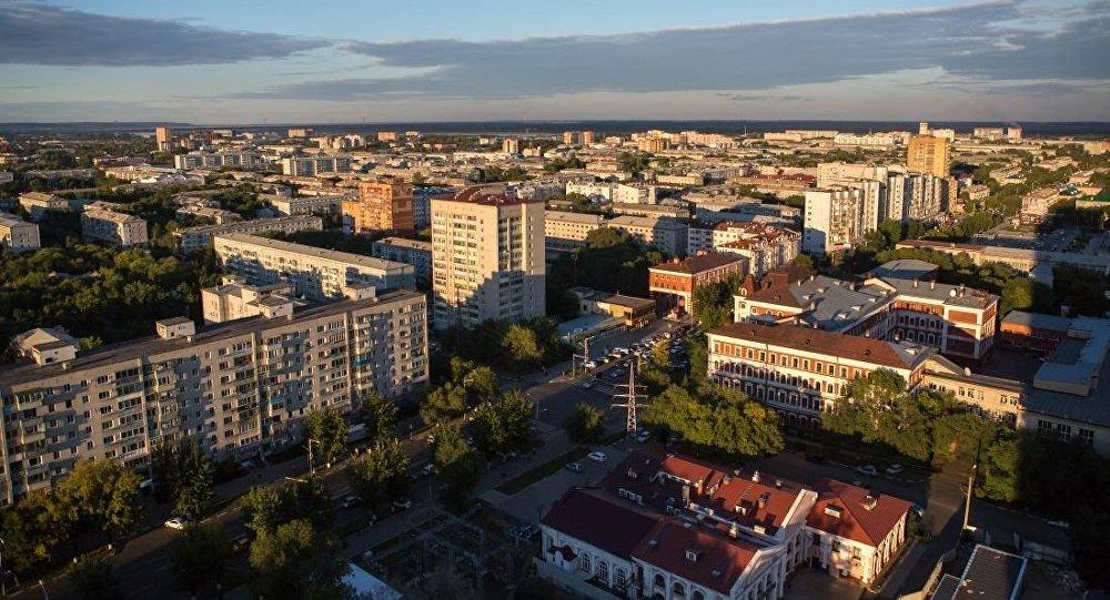 俄罗斯阿穆尔州布拉戈维申斯克