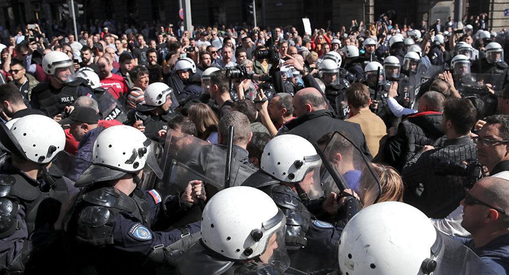 科索沃抗议活动