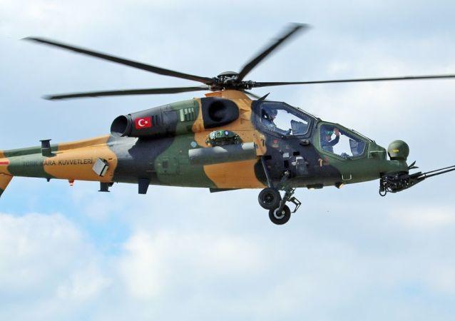 土耳其军用直升机