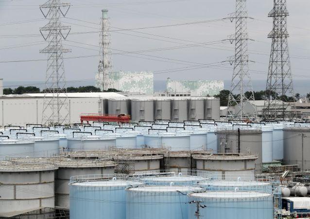Вид на АЭС Фукусима