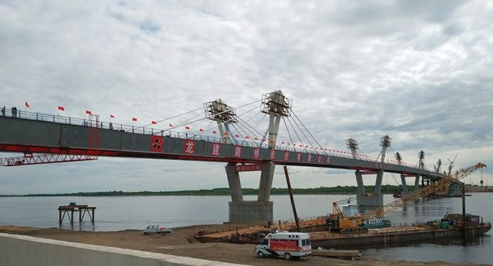 中俄黑河—布拉戈维申斯克黑龙江(阿穆尔河)大桥