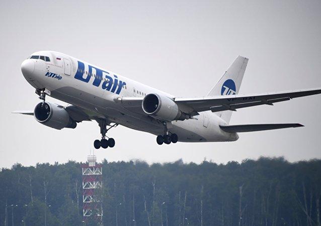 优梯(Utair)航空公司的客机(资料图片)