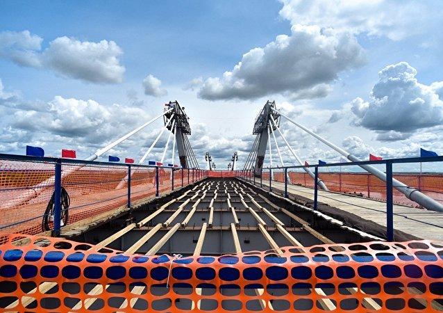 阿穆尔州希望建造通向中国的铁路桥