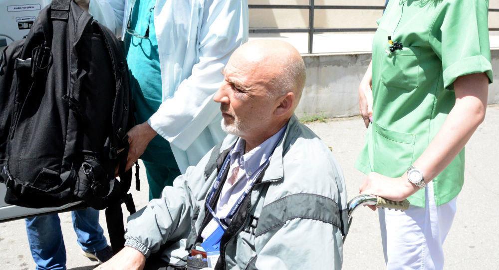 Раненный в Косово сотрудник миссии ООН россиянин Михаил Краснощеков