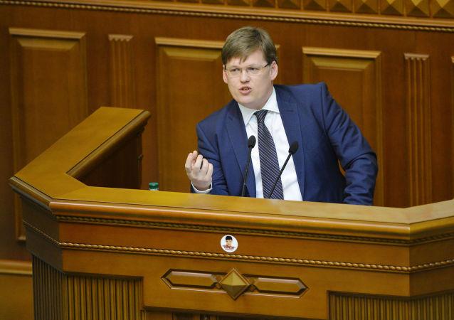 乌克兰副总理帕维尔·罗森科