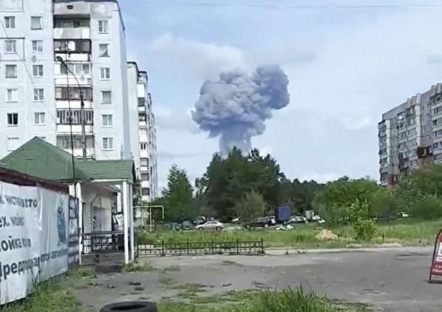 捷尔任斯克市工厂爆炸