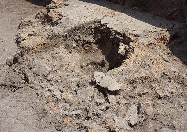 在保加利亚首都发现了一个新石器时代墓葬