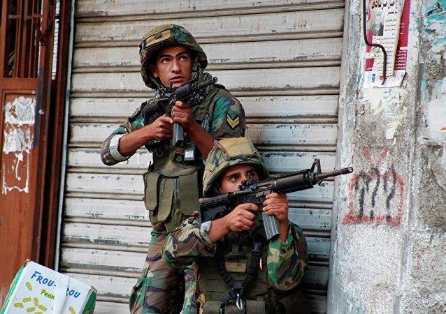 黎巴嫩政府军