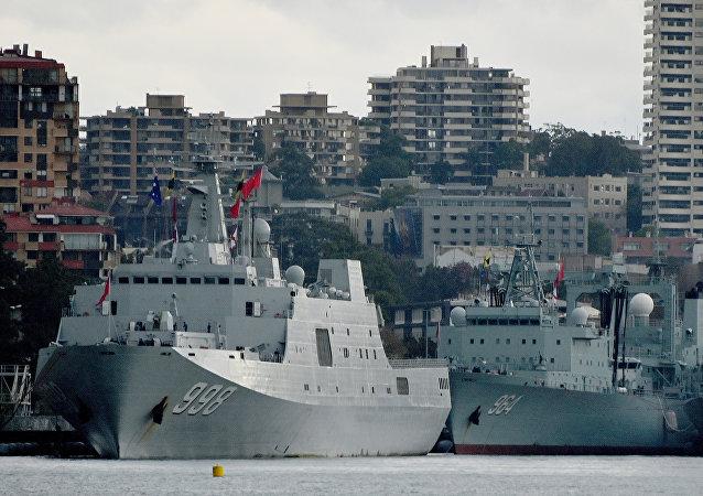 中国海军护航编队缘何停靠悉尼港