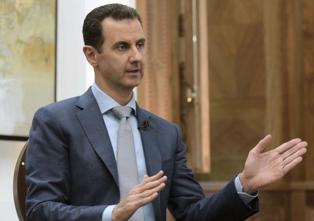 叙利亚总统:大马士革将反抗土耳其的公然侵略