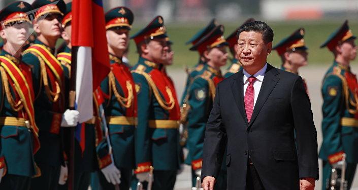 中国国家主席习近平抵达莫斯科 开启国事访问