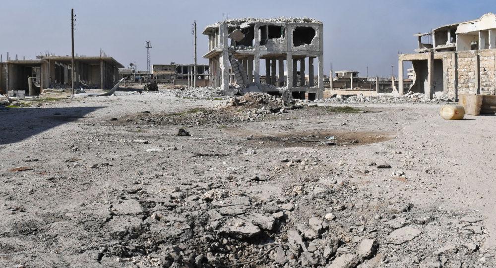 叙工兵在伊德利卜省摧毁武装分子用以藏身的洞穴