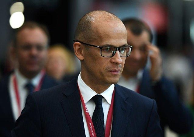 亚历山大·布列恰洛夫在圣彼得堡国际经济论坛