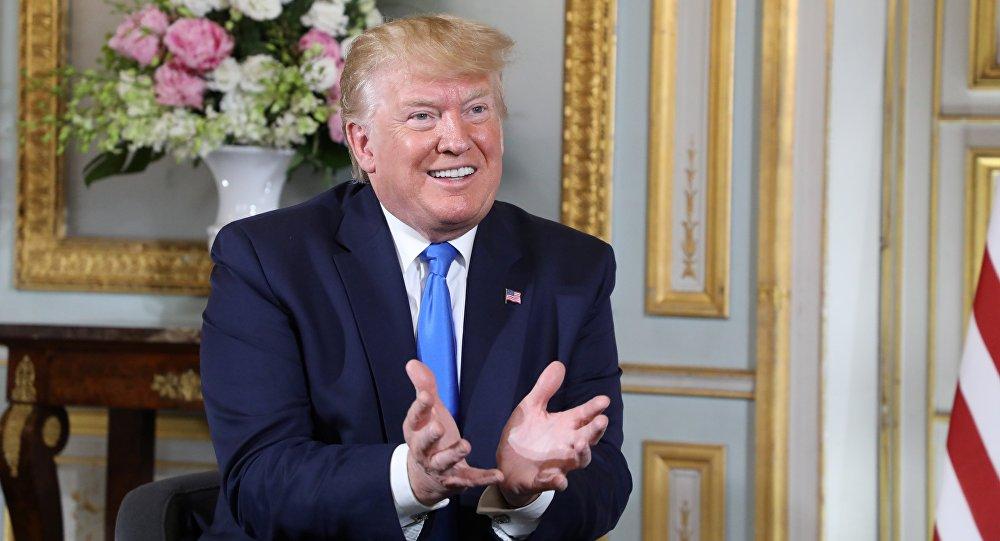 特朗普称将达成与中国的贸易协议
