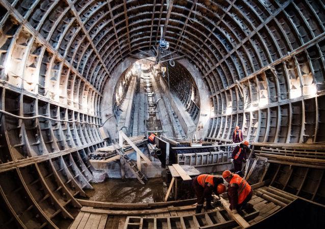 莫斯科地铁的建造工作