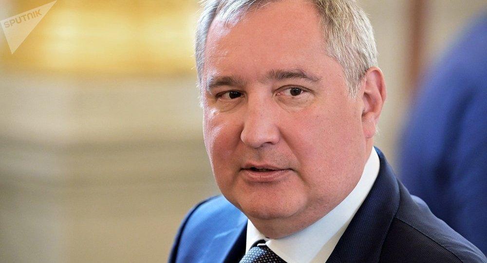 俄罗斯航天集团公司总裁德米特里∙罗戈津(资料图片)