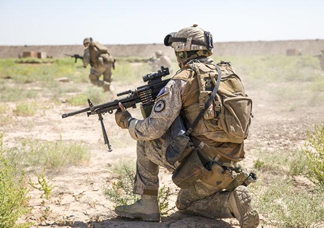 新西兰士兵