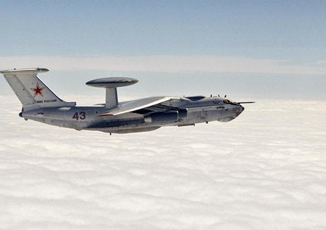 俄远程雷达探测机А-50将在北约演习期间监测黑海上空动态