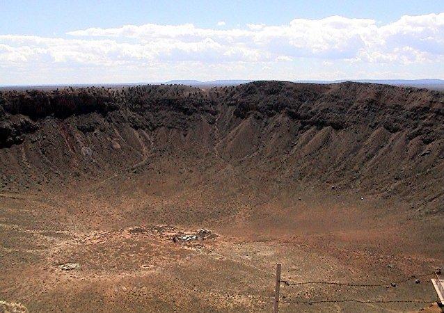 科学家发现古老陨石坑