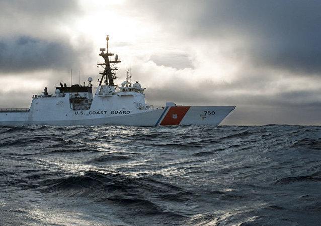 The national security cutter USCGC Bertholf (WMSL 750)