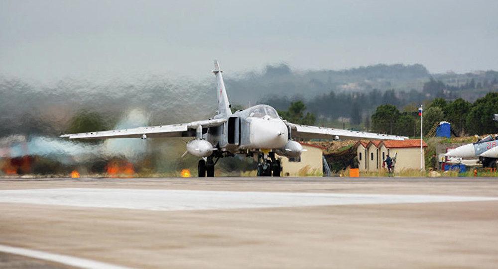俄罗斯空天军在叙利亚