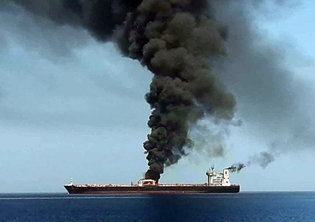 专家:袭击油轮或许是旨在破坏日本稳定伊朗周边局势的努力