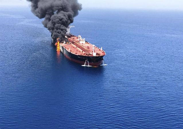 媒体:伊朗在阿曼湾油轮遇袭事件发生前曾试图击落美国无人机